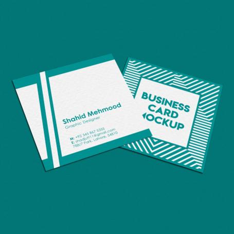 کارت ویزیت مربع